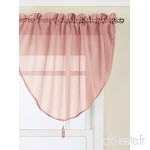 Lorraine Home Fashions Reverie Ascot Valance  40 by 25-Inch  Melon by Lorraine Home Fashions - B017S53JC0